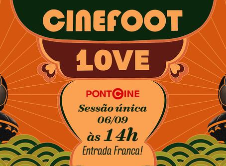 Ponto cine dedica uma sessão ao Cinefoot 2019