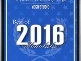 Won! the 2016 Best Honolulu Award !