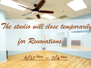 Temporarily close on 6/27~7/4