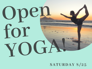 Open for Yoga!