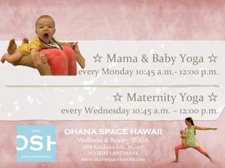 Mama & Baby Yoga, Maternity Yoga