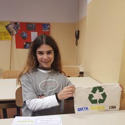 Francesca Vergata - Borsina per raccolta differenziata