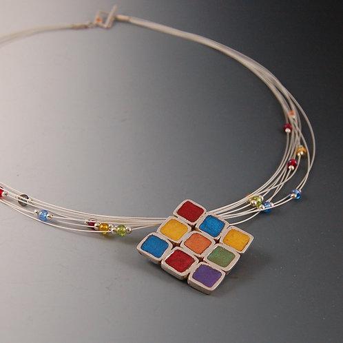 Confetti Pendant & Earrings