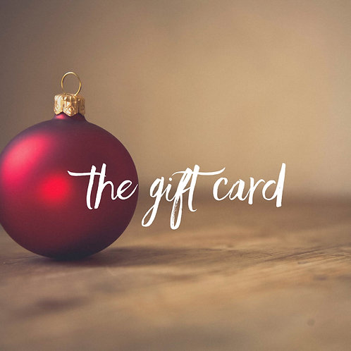 Seasonal Gift Card