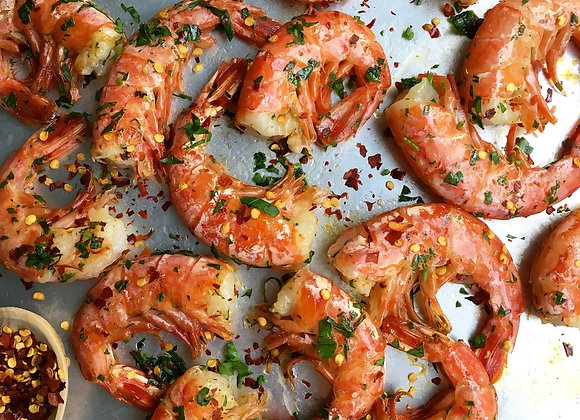 CREVETTES ROSES ARGENTINE SAUVAGES 16/20 EASY PEEL 2LBS