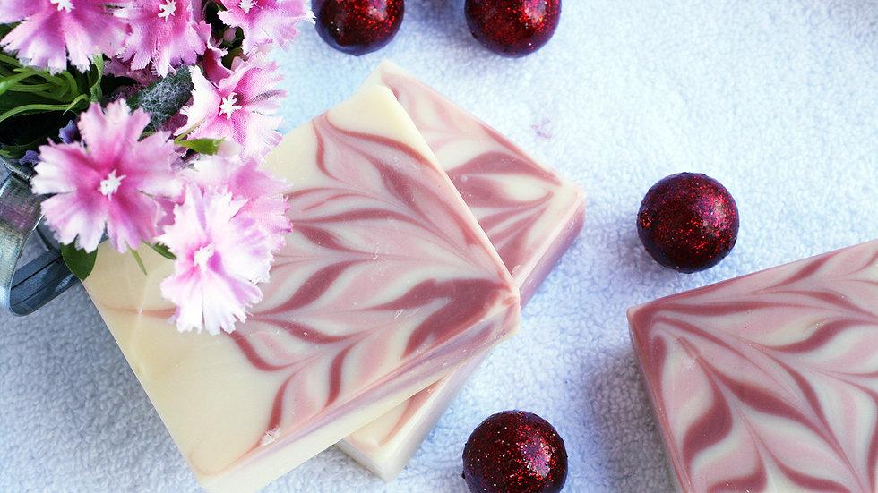 Pink Flower Handmade Soap