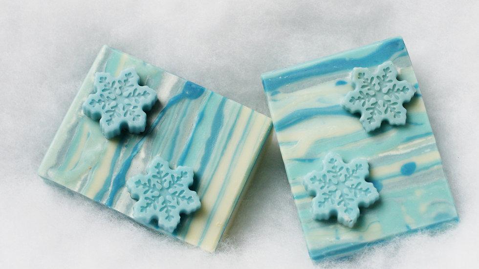 Snowflakes Handmade Soap