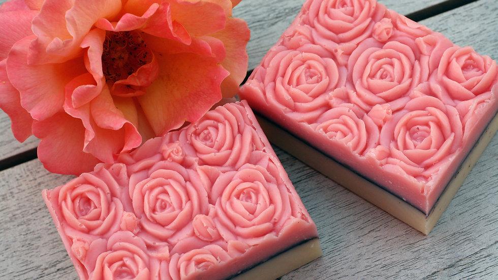 Pink Rose Handmade Soap