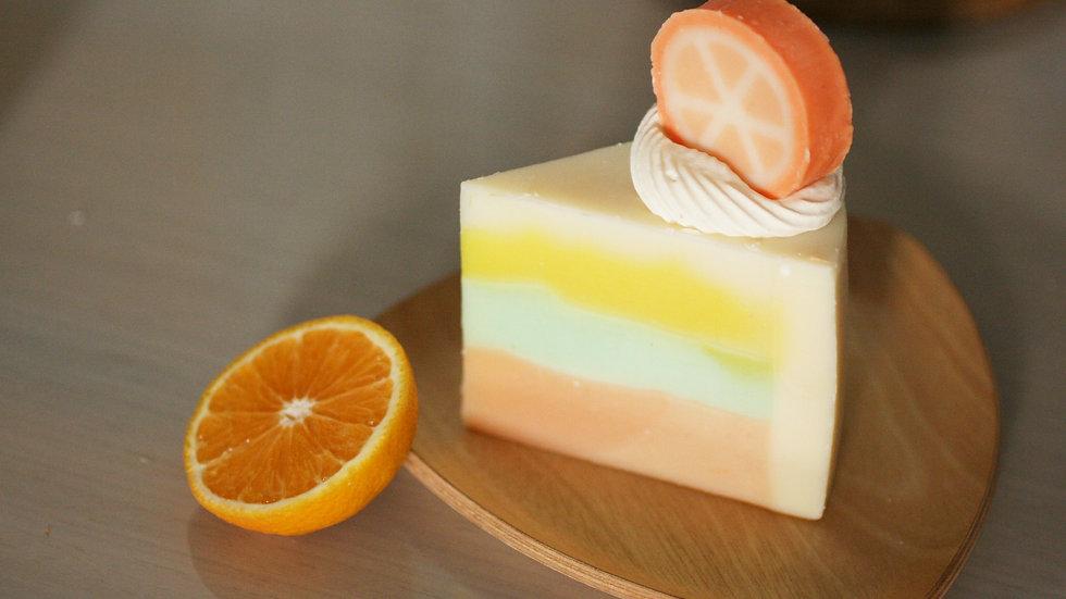 Orange Soap Cake