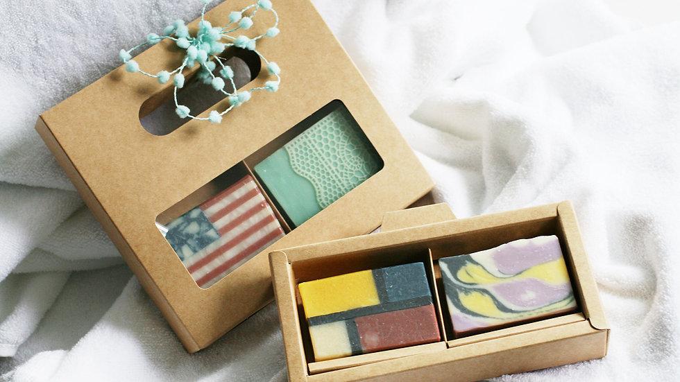 Artisan Soap Gift Set – 2 Soaps