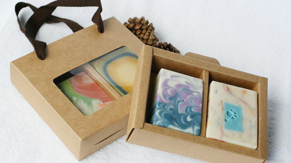 Shopper Soap Box – 2 Soaps