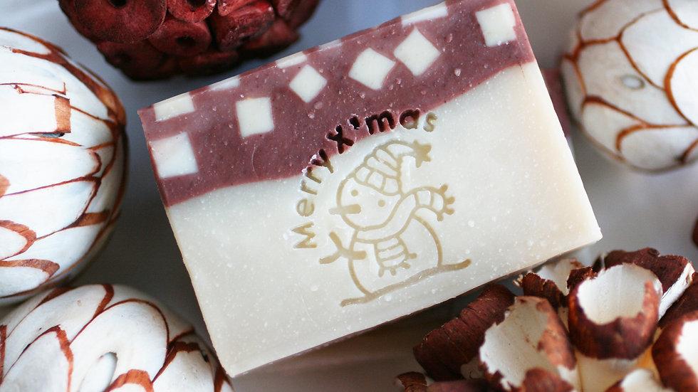 Snowman Handmade Soap