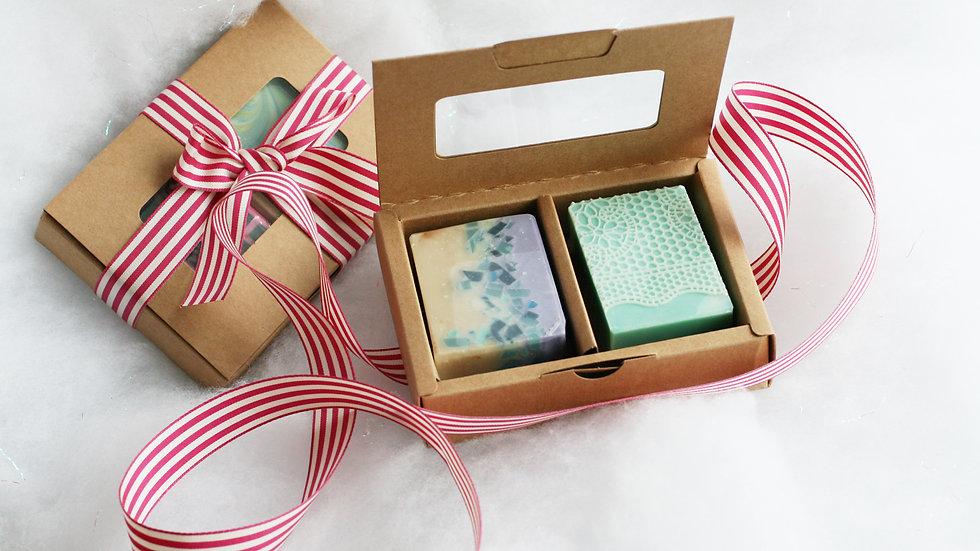 Window Soap Box – 2 Soaps