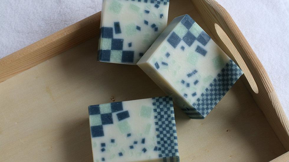 Mosaic Rain Handmade Soap