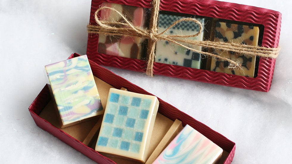 Red Water Giftbox – 3 Soaps