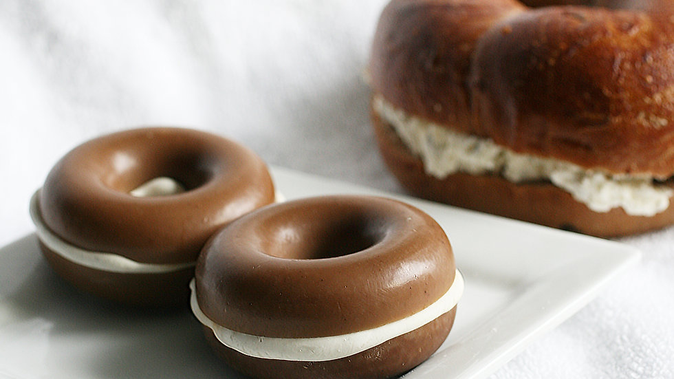 Bagel and Cream Cheese Soap