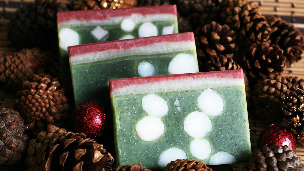 Christmas is here Handmade Soap