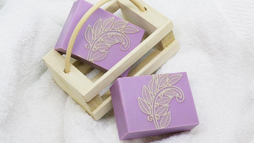 Love Purple Handmade Soap