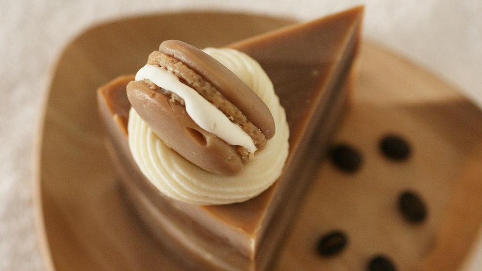 Chocolate Macaron Soap Cake