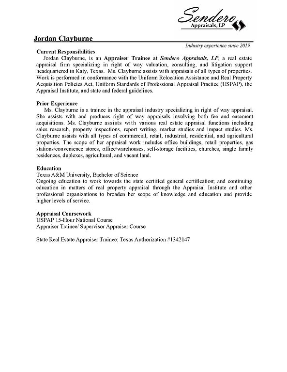 Clayburne Appraiser Qualifications 1.20.