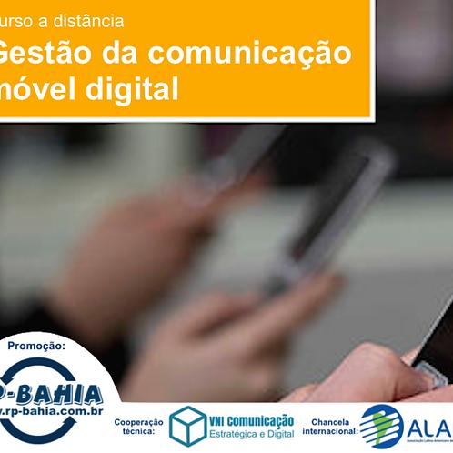 Curso EAD Gestão da Comunicação Móvel Digital