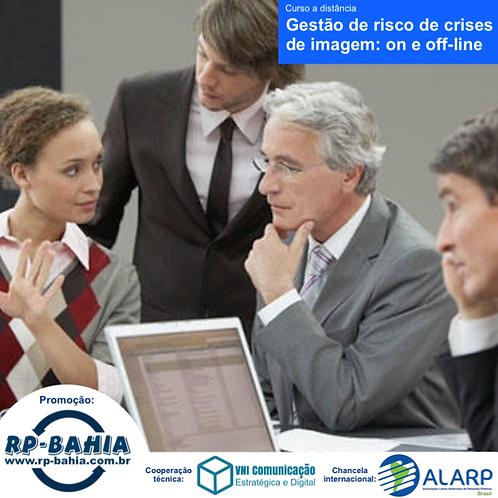Curso EAD Gestão de Risco de Crises de Imagem: on e off-line
