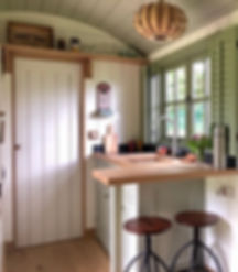 Tiny House/Hut kitchen