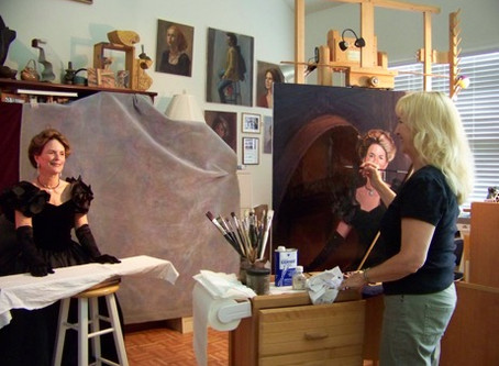 What to Expect When Sitting for a Portrait Painting