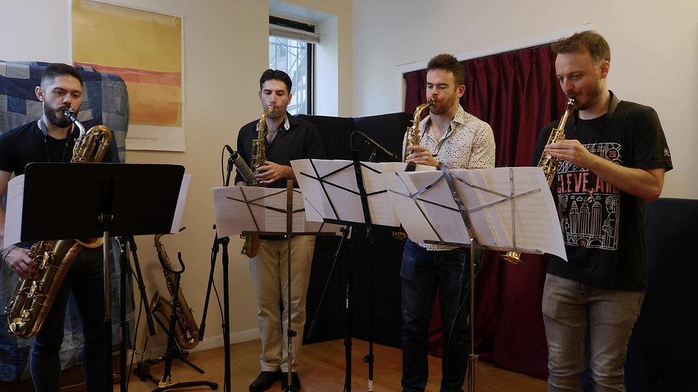 Parker 51 for Saxophone Quartet