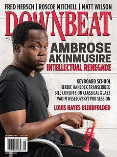 Sept. 2017 Downbeat Cover