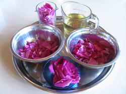 Huile à la rose www.vivherbes.com