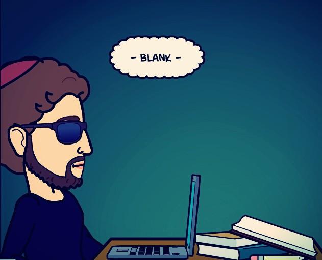 Heshy drawing a blank