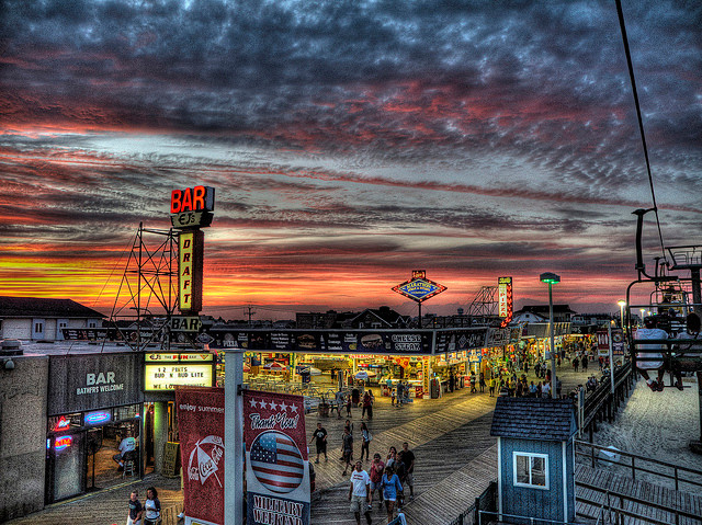 Boardwalk at Seaside Heights
