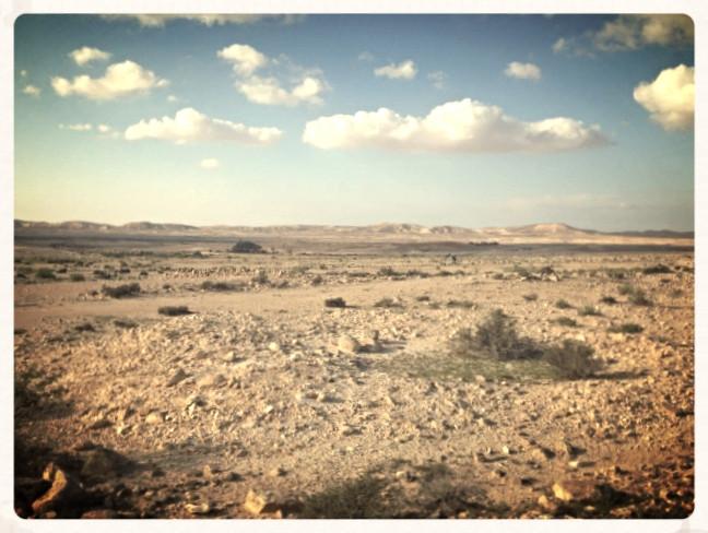 Shivta Desert