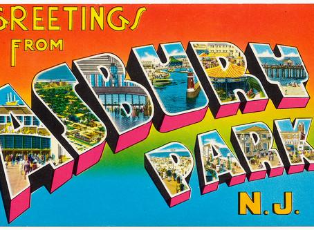 A postcard.