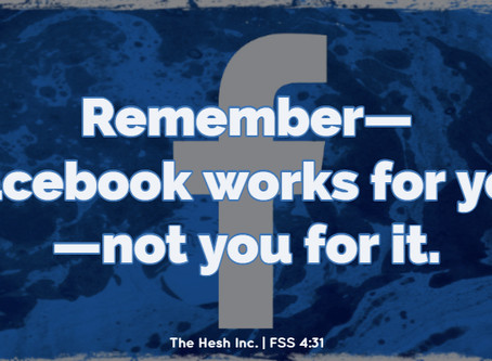 The Facebook Megillah