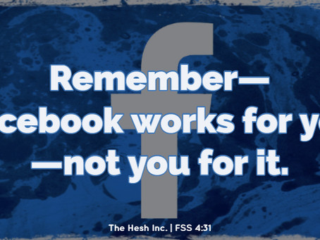 The Facebook Megillah