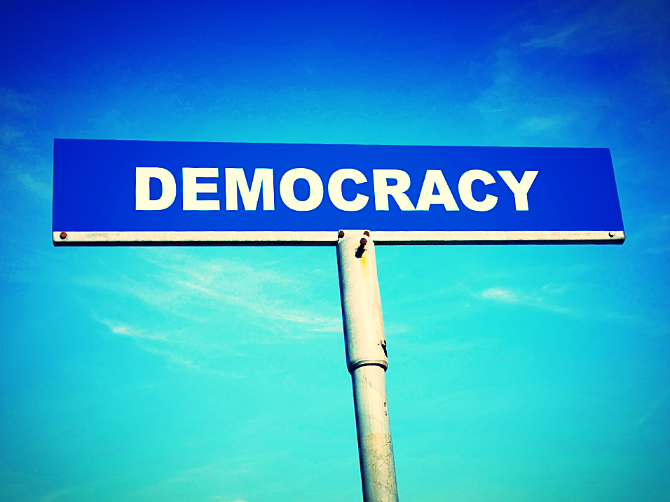 It's a democracy.