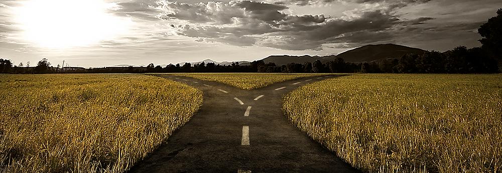 Not a cross roads