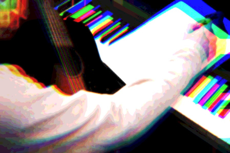 Songwriting, guitar, piano, pen, paper