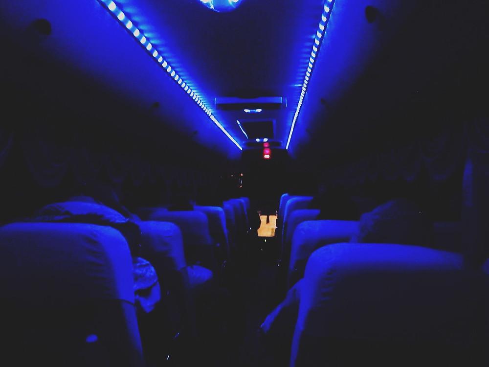 Overnight bus ride