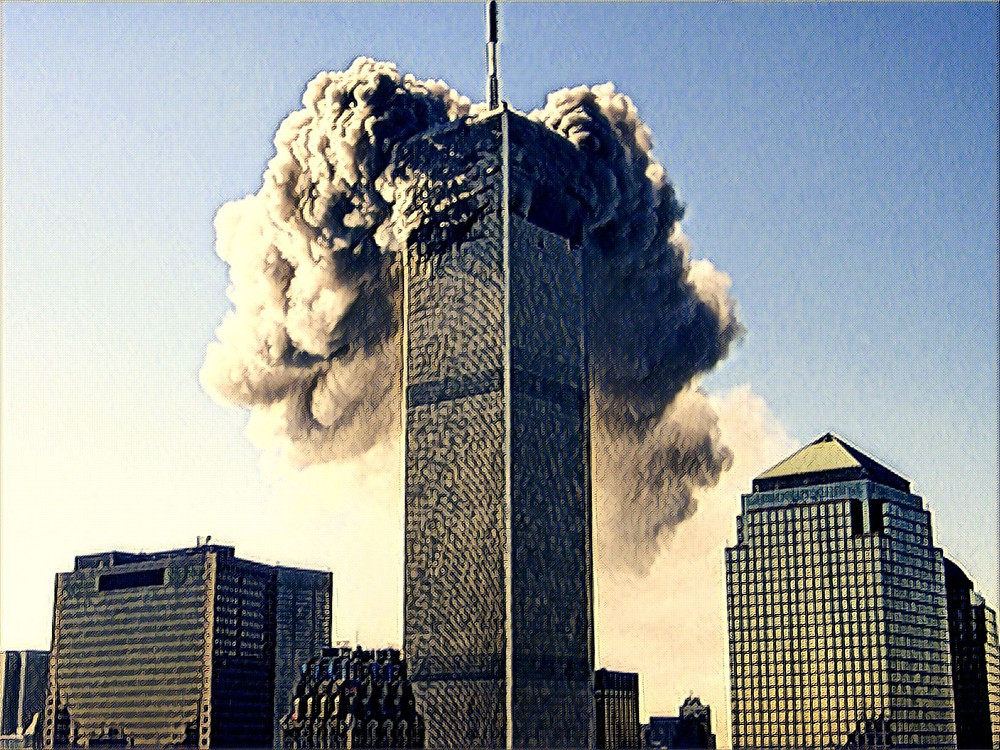 WTC North Tower, 9-11-01
