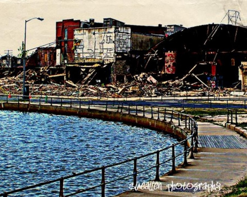 """The Destruction of Asbury Park"" by Sue Rosen"
