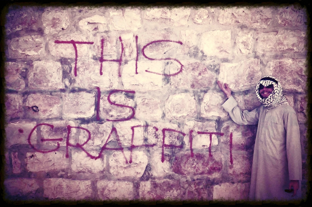 This is graffiti.