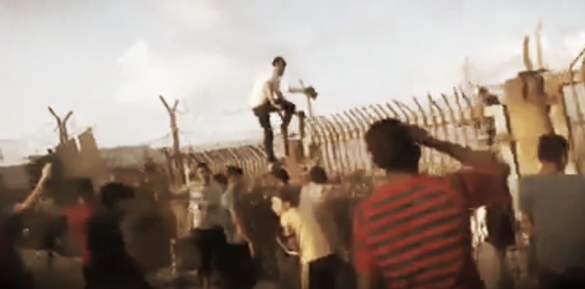 Barbarians at the gate, Gaza, 2018