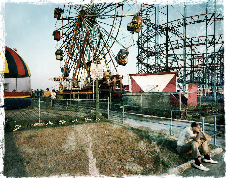 Asbury Park in the 70s (photo by Joe Maloney)