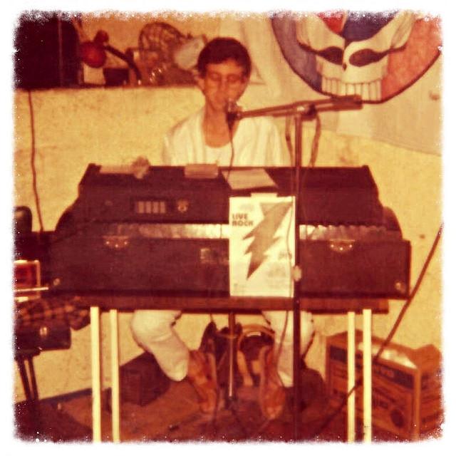 Heshy at JBR, April 1982