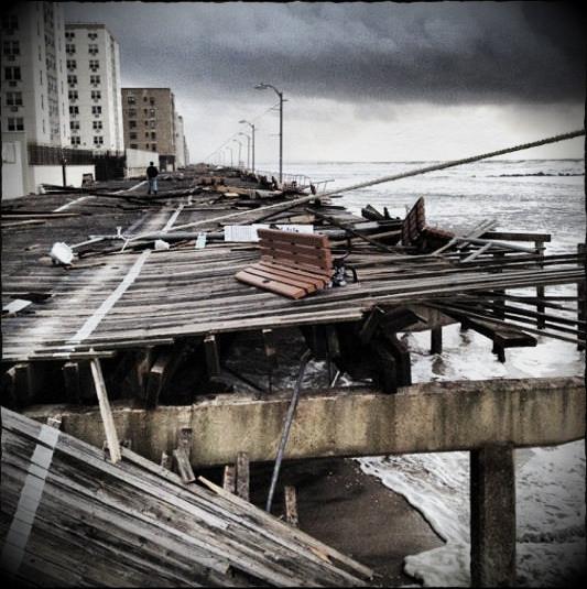 LBNY Boardwalk after Sandy