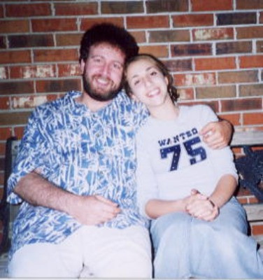Bracha and Abba in Teaneck, c. early 2000s