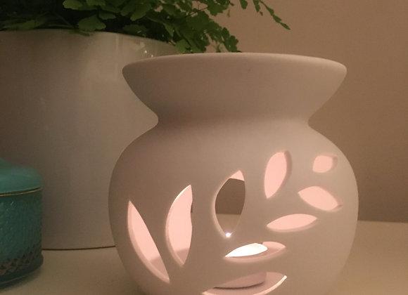 Tea light Diffuser + Oil Blend